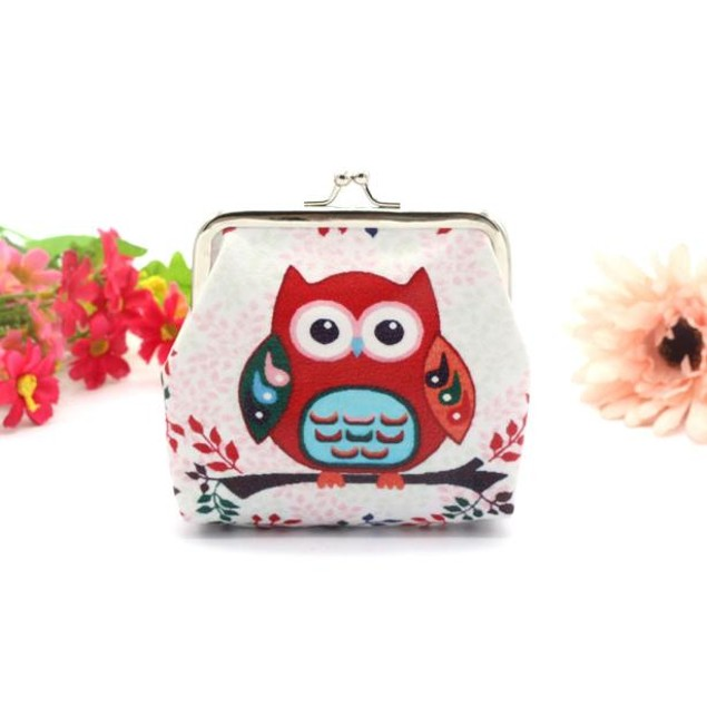 Women's Owl Purse Clutch