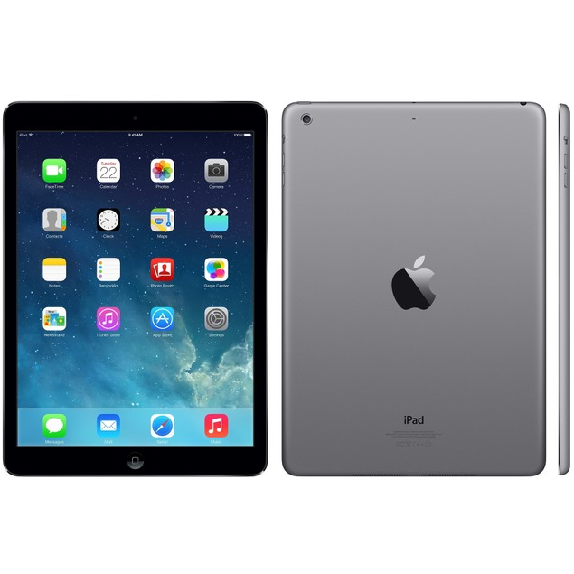 "Apple iPad Air 2 64GB Wifi 9.7"" Space Gray (Refurbished)"