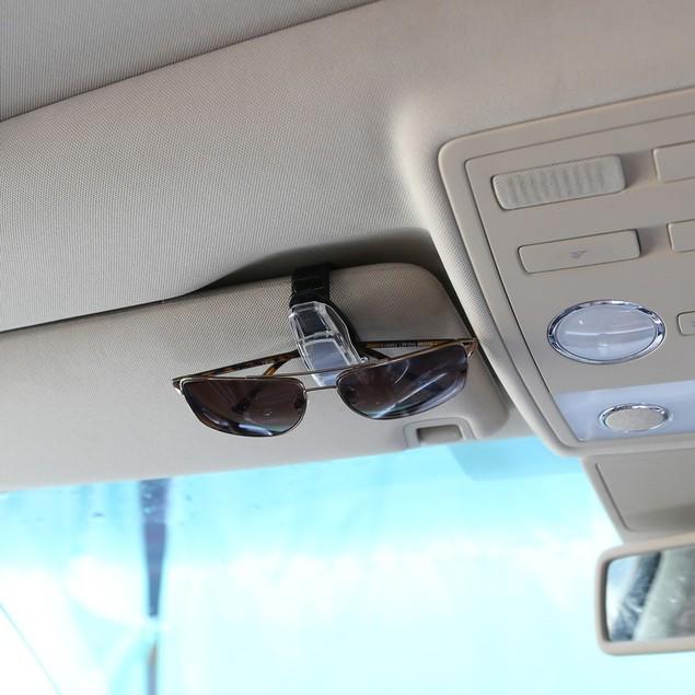 Car Accessory Glasses Sunglasses Card Visor Pen Business Card Clip Holder