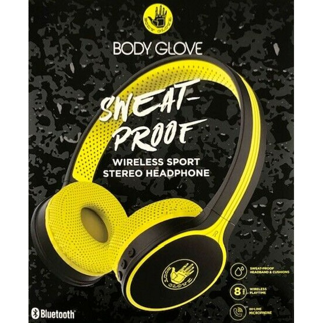Sweat-Proof Bluetooth Wireless Headphones