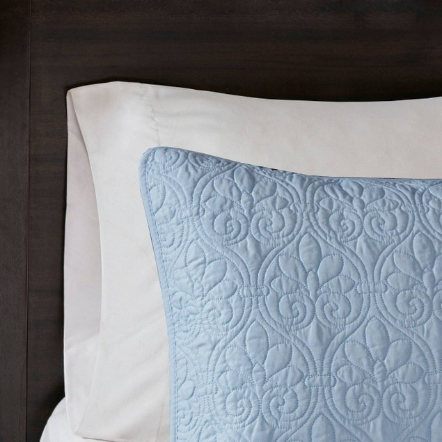 "Madison Park Quebec 2-Pc. Twin/Twin XL (68""x90"") Polyester Coverlet Set,"