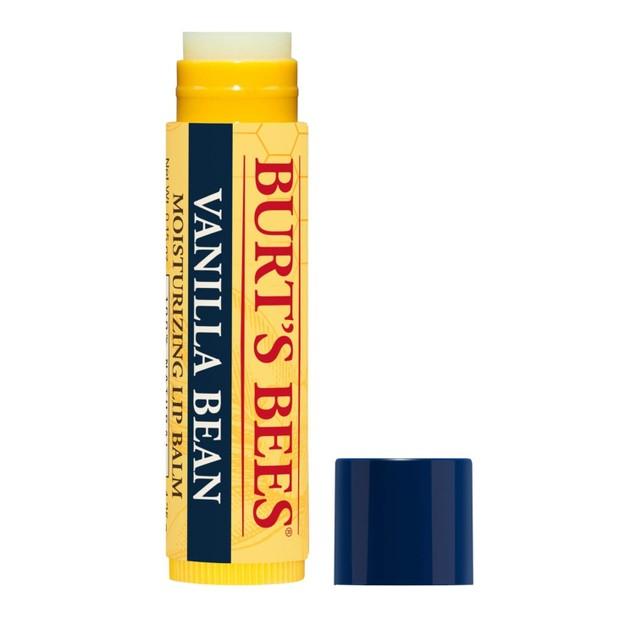 Burt's Bees 100% Natural Moisturizing Lip Balm, Vanilla Bean, 2 Count x