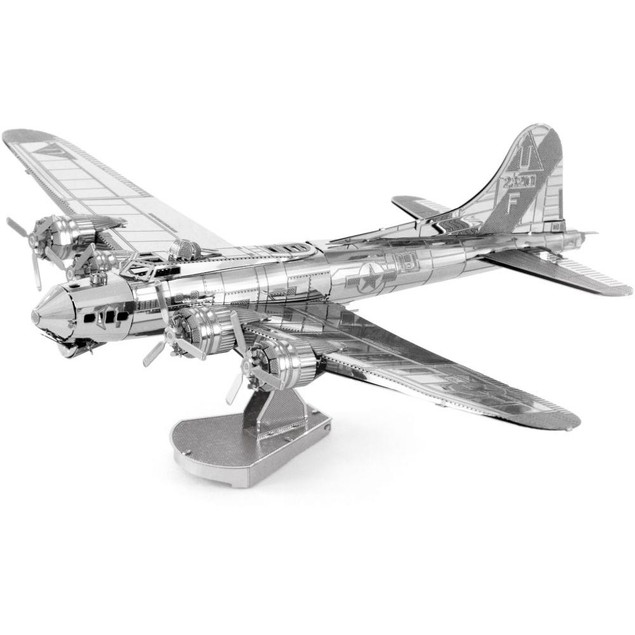 MetalEarth B-17 Flying Fortress 3D Model, Airplanes by Fascinations