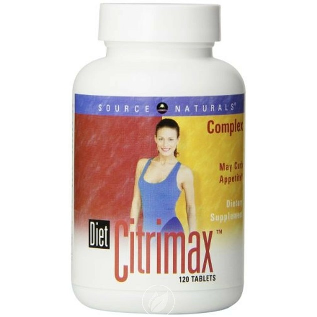 Diet Citrimax Complex Source Naturals Dietary Supplement Tablet, 120 Ct