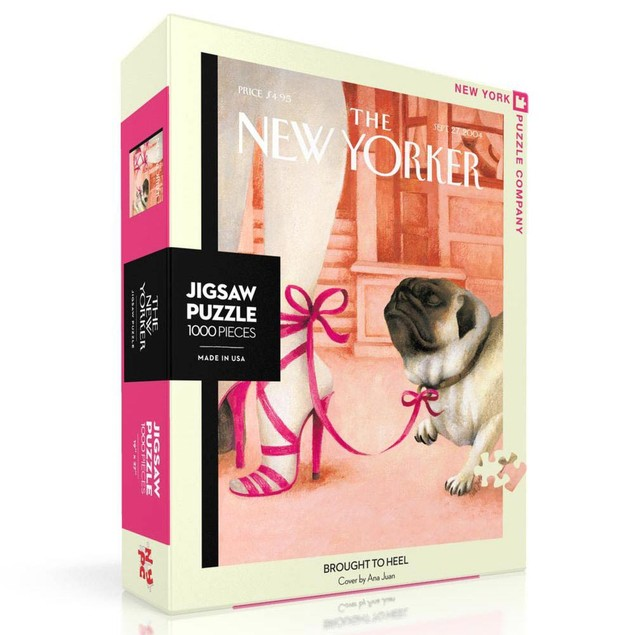 Brought to Heel New Yorker 1000 Piece Puzzle