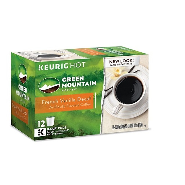 Green Mountain Coffee French Vanilla Decaf Keurig K-Cups