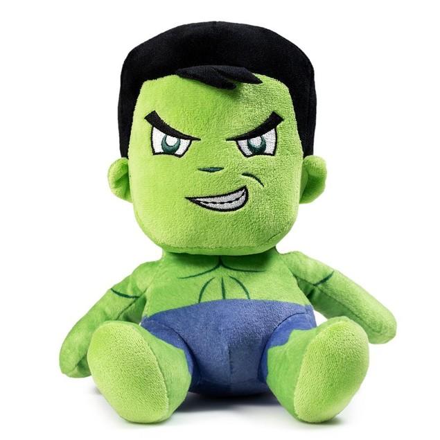 """The Hulk Sitting Kidrobot 7"""" Plush Marvel Comics Bruce Banner Green Gift"""