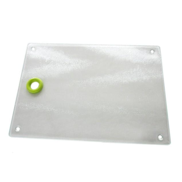 Rough surface glass breakfast board 11.8inch x 15.7inch 30x40cm