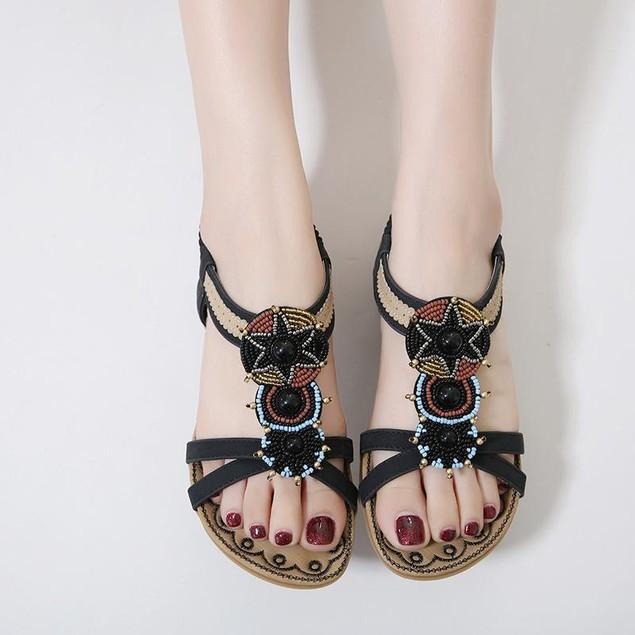 Comfy sandals - Comfortable Bead Slip Sandals