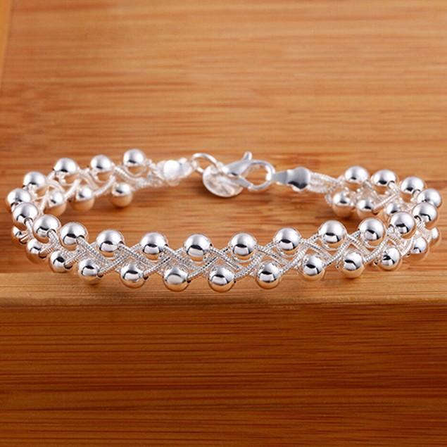 Women Cute 925 Sterling Silver Bracelet