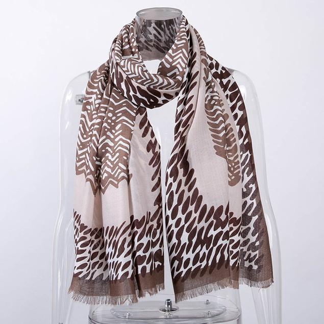 Fashion Lady Women Leopard Prints Shawl Scarf