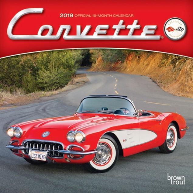Corvette Mini Calendar, Corvette by Calendars
