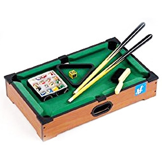Tabletop Billiards 16 inch Game, More Pop Culture by Westminster Inc. (HK)
