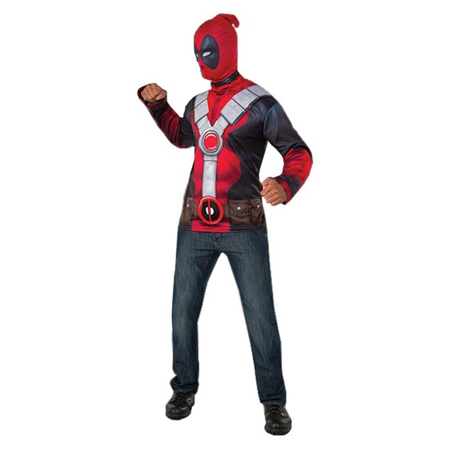 Deadpool Muscle Chest Costume Top