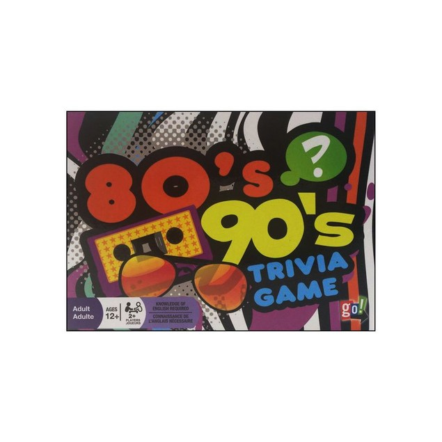 80s and 90s Trivia, Mindbenders & Trivia by Go! Games