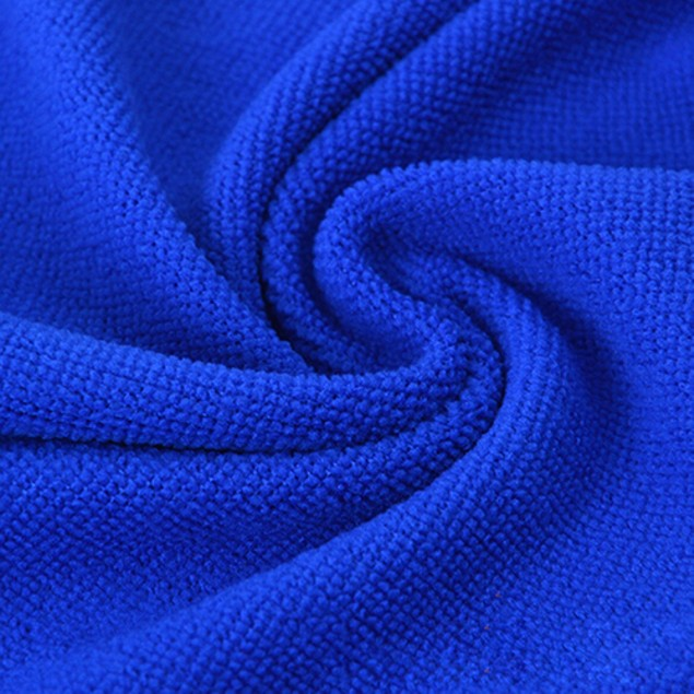 5Pcs Blue Soft Absorbent Cleaning Towels