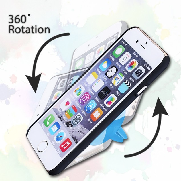 Zone Tech Air Vent Magnetic Holder Cell Phone Car Mount Clip Iphone