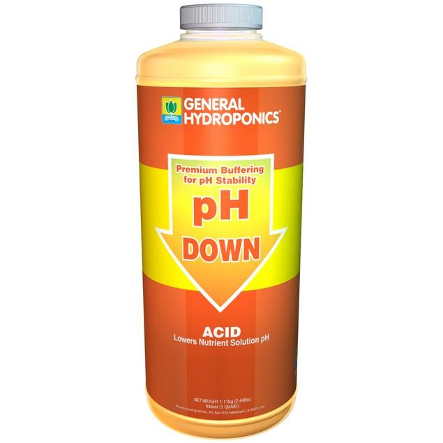 GH pH Down Liquid pH Down Acid Quart