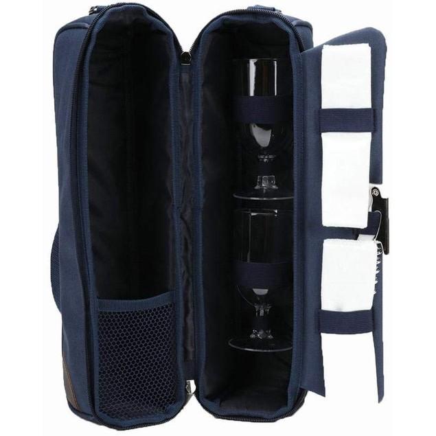 Wine Cooler Carrier Tote Bag Set Insulated Wine Bottle holder Case