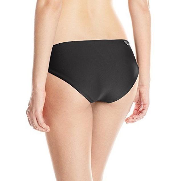 Body Glove Women's Smoothies Ruby Bikini Bottom, Black, SZ LARGE