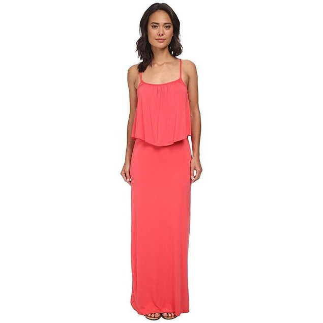 Culture Phit Women's Monicah Maxi Dress Coral Dress LG