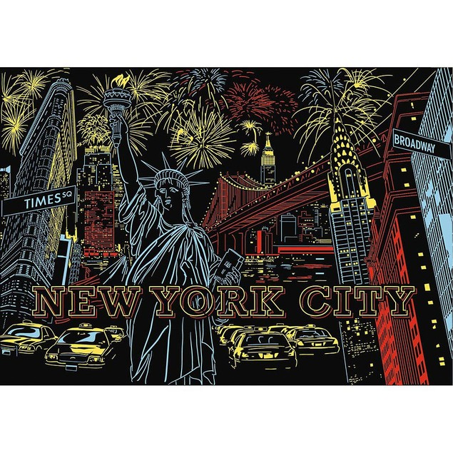 Colorful New York 1200 Piece Puzzle, New York City by Ravensburger