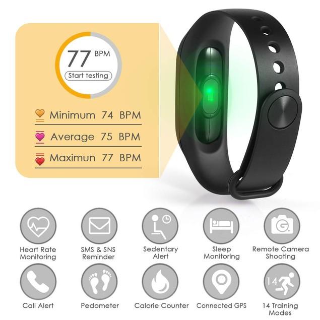 Smart Health Monitor Watch Bracelet