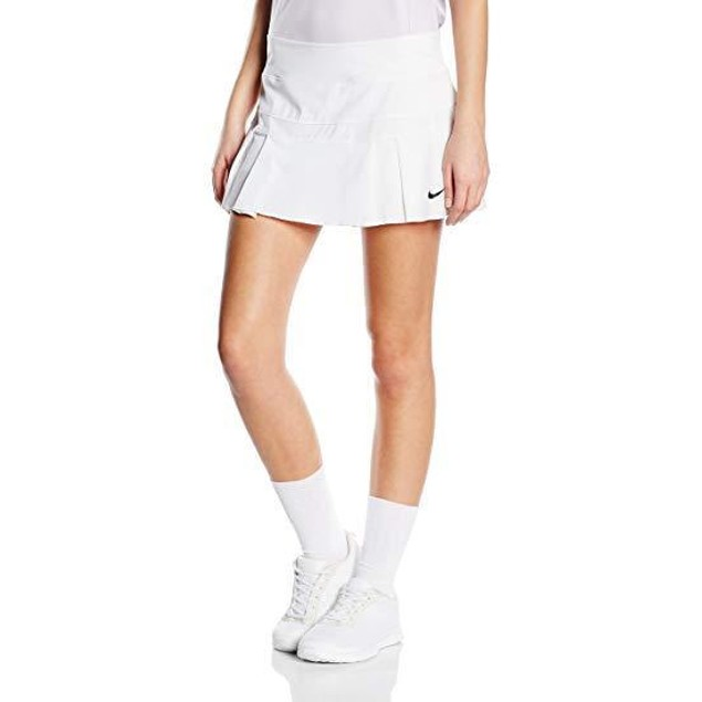 NIKE Women's Victory Breathe Skort White/Black XL X R