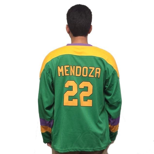 Luis Mendoza #22 Ducks Hockey Jersey