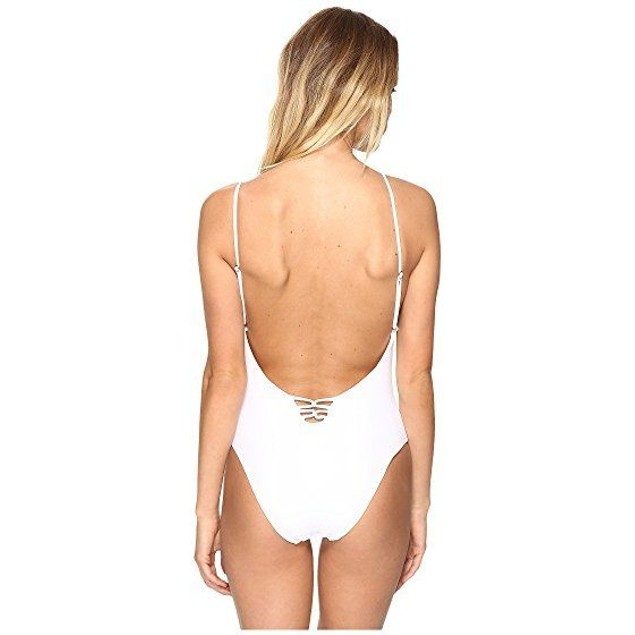 6 Shore Road by Pooja Women's Sunrise One Piece Swimsuit SIZE LARGE