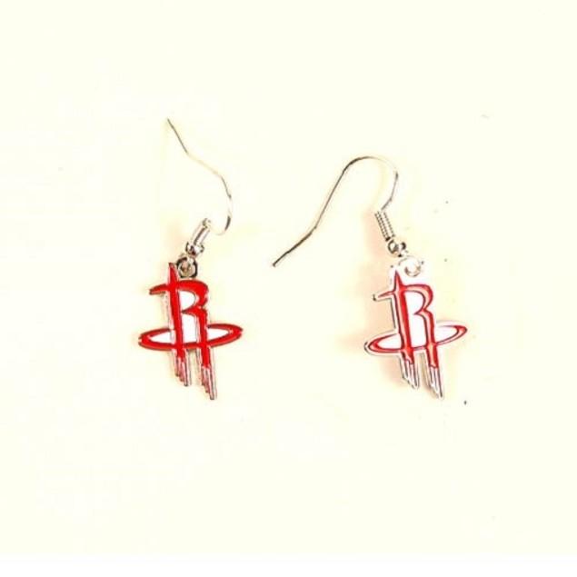 Houston Rockets NBA Sophie Style Dangle Earrings