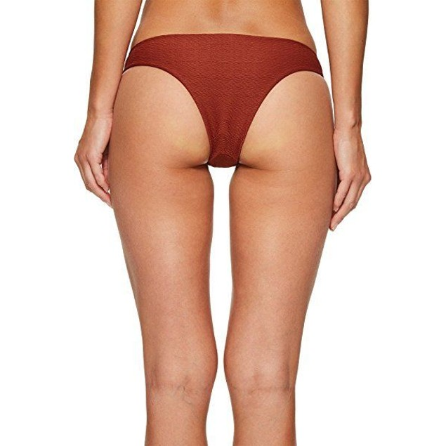 Blue Life Women's Roped Up Tie Side Bottom Clay Swimsuit Bottoms SZ ME