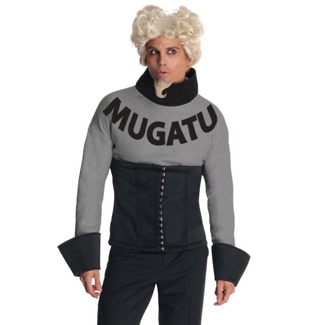 Mugatu Zoolander Adult Costume And Wig Will Ferrell Mens Deluxe Halloween
