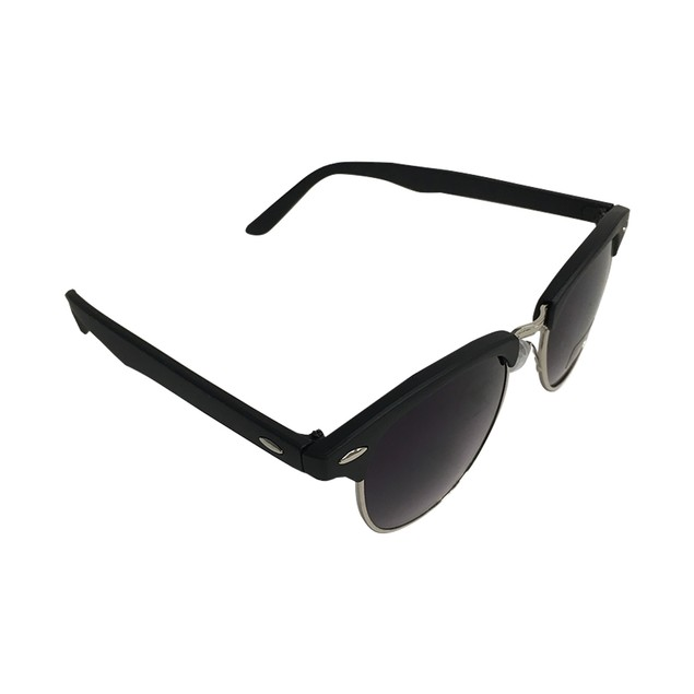 Ferris Bueller Half Frame Dark Blue Sunglasses