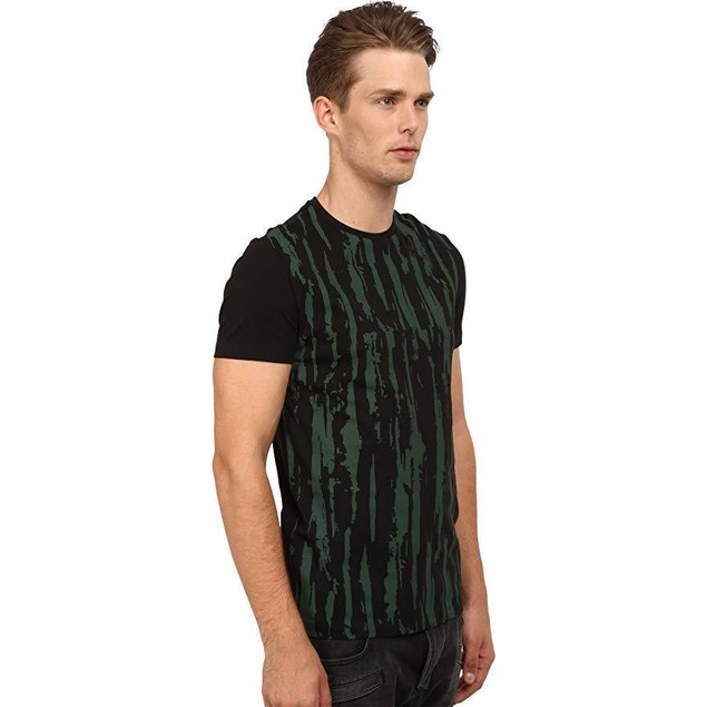 CoSTUME NATIONAL Men's Front Distress Shirt Nero LG