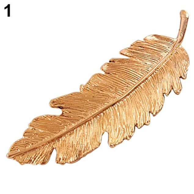 Women's Vintage Style Leaf Hair Clip