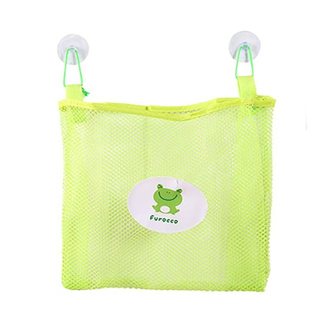 Baby Bath Tidy Storage Toy Suction Cup Bag Mesh Bathroom Organiser Net