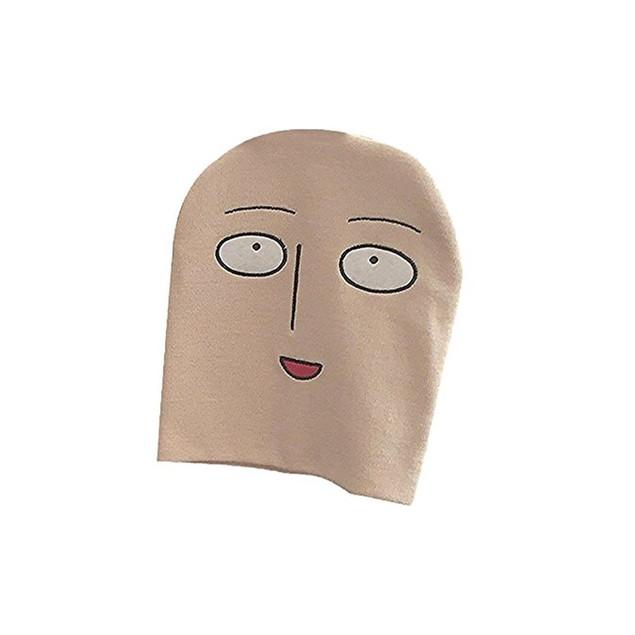 Saitama Face Bald Head Beanie Hat