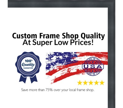 10x15 - 10 x 15 2 inch Deep Shadow Box Custom Size Solid Wood Frame ...