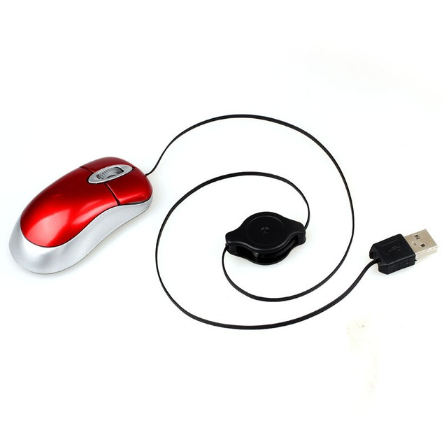 Mini USB Wired Optical Gaming Mouse For PC Laptop