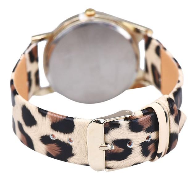 Cute Glasses Cat Women Analog Quartz Dial Wrist Watch