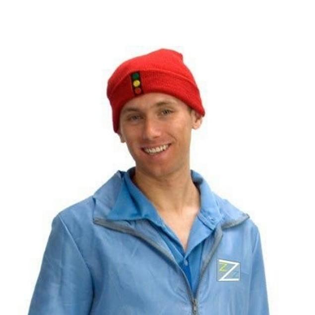 The Life Aquatic With Steve Zissou Traffic Light Knit Hat