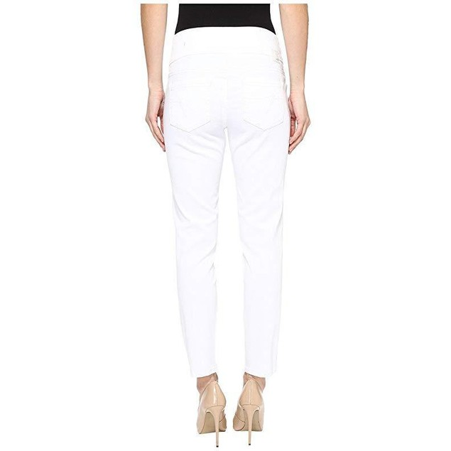 Jag Jeans Women's Amelia Ankle in Bay Twill White Pants SZ: 4