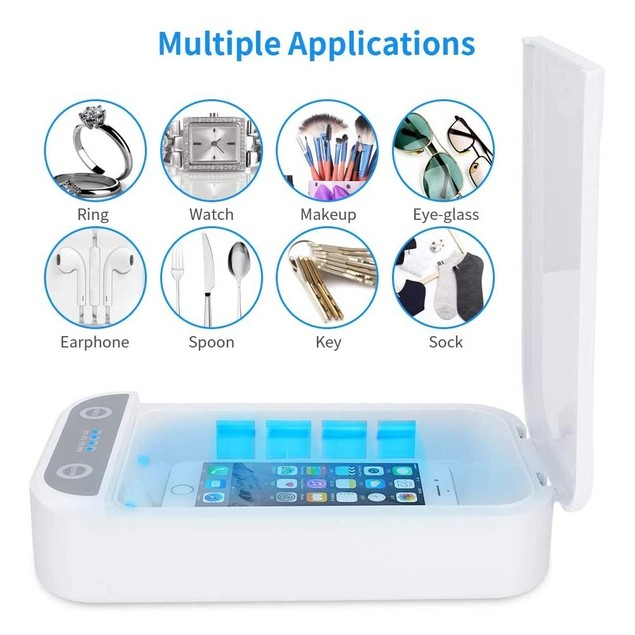 Ultraviolet Phone Sterilizer with Essential Oil Diffuser