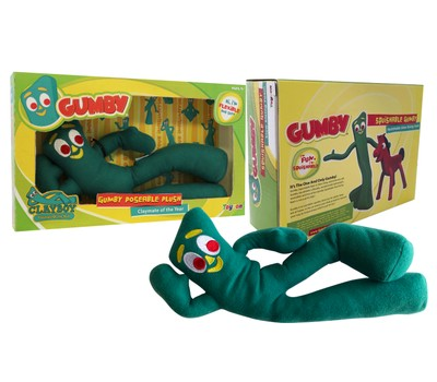 Gumby Poseable Plush 9