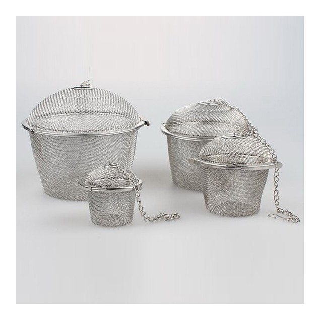 6.5cm Stainless Steel Flavor Ball Strainer Soup Tea
