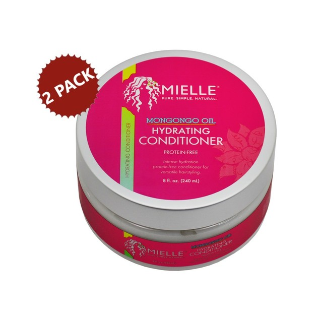 2-PACK Mielle Organics Mongongo Hydrating Protein Free Conditioner, 8 e (16