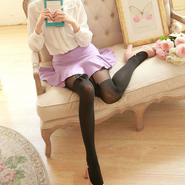 Women Vintage Tights Stockings