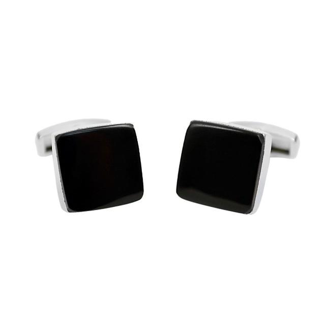 Black Square Premium Cufflinks