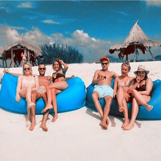 Outdoor Waterproof Inflatable Lounger